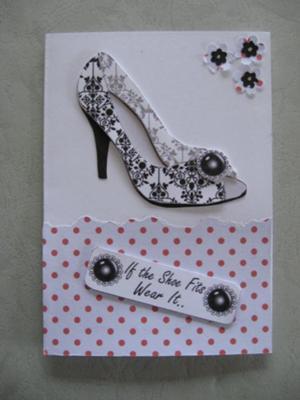 Shoe decoupage