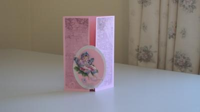 Baby Decoupage Fairy
