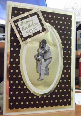 Son's card