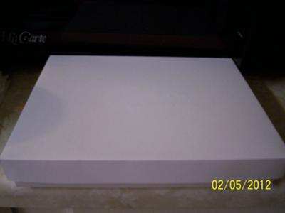 Finished Handmade Rose Card Box
