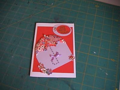 Japanese Quilting Get Well Card