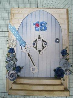 Blue Door Card