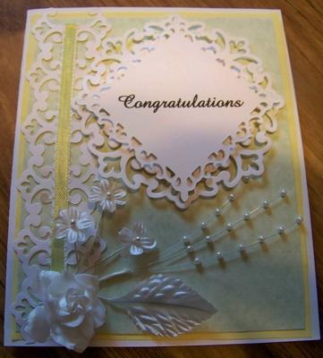 Wedding Card outside